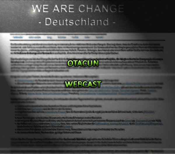 Otacun Webcast 17 - Aktiv werden mit Christian Stolle von we-are-change.de