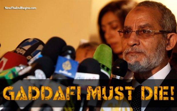 Why Gadhafi must die
