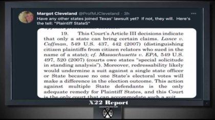 X-22 Report vom 8.12.2020 - Gegenmaßnahmen eingeleitet - Die Verfassung wird den [DS] zerstören