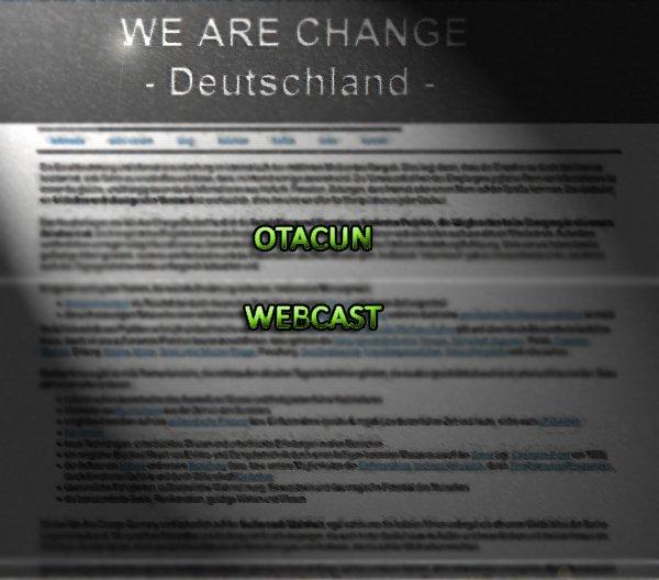 Otacun Webcast 17 - Aktiv werden mit Christian Stolle von we-are-change.de