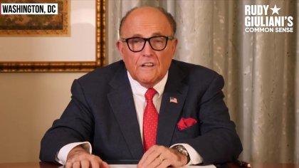 Rudy Guiliani über Wahlbetrug 2020 und kanadische Firma Dominion